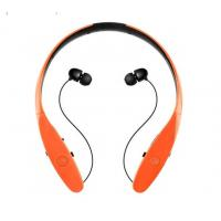Buy cheap Neck Band Bluetooth Stereo Headphones , Noise Cancelling Earphones Magnet Control from wholesalers
