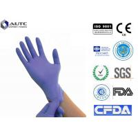 Buy cheap Doctor Purple Bulk Nitrile Coated Gloves Powder Free Recycling Screwfix For Hospital from wholesalers