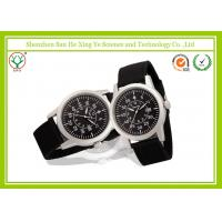 Buy cheap Customized Logo Male Wrist Watches Army Light Green Watch Band from wholesalers