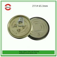 211 tuna fish can lid,65mm tomato paste lid,Tinplate easy open end,Tin can lid,Meat easy o Manufactures