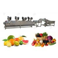 Buy cheap Hot Air Vegetable Washing Machine Stainless Steel Commercial Air Dryer Machine from wholesalers