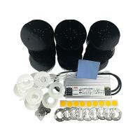 Buy cheap 9pcs cree cxb3590 3500k led chip diy grow light kit with meanwell led driver HLG product