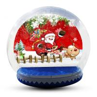 Wholesale Large Inflatable Snow Globe For Outdoor Christmas Decoration EN14960 from china suppliers