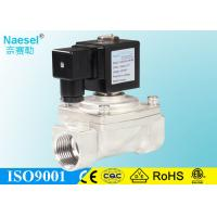 Buy cheap Stainless Steel Air Ride Solenoid Valves , Direct Lifting 2 Way Hydraulic Solenoid Valve from wholesalers