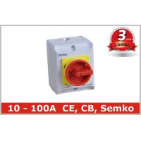 Commercial 16 Amp Rotary Isolator Switch Electrical Isolation Switch Manufactures