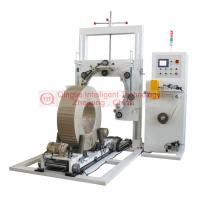 Buy cheap Heavy Duty Wire Coil Wrapping Machine , Highly Efficiency Vertical Wrapping Machine from wholesalers