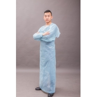 Buy cheap Waterproof Uniform CPE 30g Disposable Medical Gowns from wholesalers