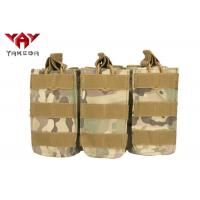 Buy cheap Military Molle Gear Accessories Compatible Open Top Triple Mag Pouch For M4 M17 AK47 Magazine from wholesalers