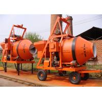 Buy cheap Mobile Reverses Discharging Portable Electric Cement Mixer 750L Volume Low Noise from wholesalers