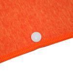 Buy cheap Orange Custom Pattern Microfiber Bathrobe Lightweight For Beach from wholesalers