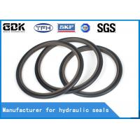 Buy cheap HBTS Hydraulic Buffer Seal Rubber PTFE HBTS Step Seal Construction Machinery from wholesalers
