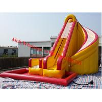 Buy cheap water slide water slide manufacturer inflatable corkscrew water slide from wholesalers