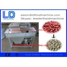 Stainless Steel Peanut Processing Machine , 200kg/H Dry Type Peanut Peeling Machine Manufactures