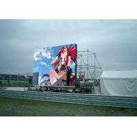 Movable Outdoor Rental LED Display P10 Easy Installation 14.5kg
