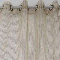 Buy cheap Striped voile/organza jacquard curtain from wholesalers