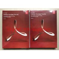 Buy cheap Adobe Acrobat Pro DC For PDF Graphic Design Software Original DVD With Retail Box from wholesalers