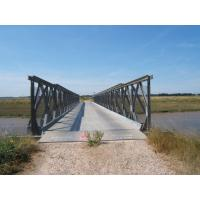 Buy cheap Portable Steel Truss Bridge Universal Mabey Temporary Bridge With Steel Deck from wholesalers