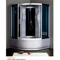 Buy cheap Corner Sector Massage Shower Cabin , Big Size Sliding Door Steam Shower Cabin from wholesalers