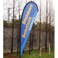 Buy cheap Advertising Beach Flying Banner,Cheap Printed Beach Teardrop Flag,Promotion Outdoor Feathe from wholesalers
