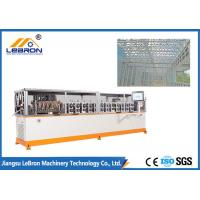 Buy cheap Orange Color Light Gauge Steel Framing Machines 2500KGS For Prefabricated House from wholesalers