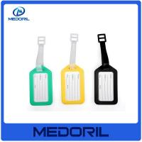Wholesale Wholesale plastic material travel bright colored luggage tags from china suppliers