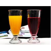Buy cheap Transparent Apple Juice Ice Cream Glasses Long Drinking Cup For One Dollar Shop from wholesalers