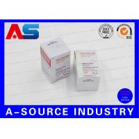 Buy cheap Custom Achat Steroids 10ml Vial Boxes with Laser Hologram Printing from wholesalers
