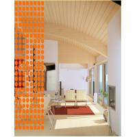 Buy cheap PVC Hang Ellipse Curtains - Orange from wholesalers