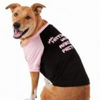 """Buy cheap Dog T-shirt, 2-tone design with """"Hating Me Won't Make You Prettier"""" Printing at product"""