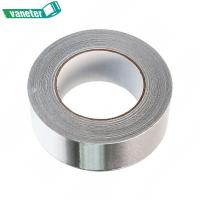 Buy cheap Silver Color Foil Backed Insulation Tape Multi Purpose Foil Tape Weather Resistance from wholesalers
