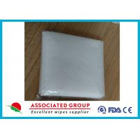 Buy cheap Pearl Small Dot Pattern Spunlace Non Woven Roll Fabric For Dry Bath Towel from wholesalers