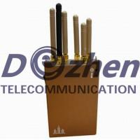 Portable 3G 4G Mobile Phone Gps Jammer , WiFi Bluetooth Gps Jamming Device for sale