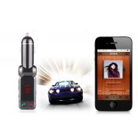 Buy cheap Bluetooth Car Mobile Charger FM Transmitter Quick Charge Power Bank With USB Flash Driver from wholesalers
