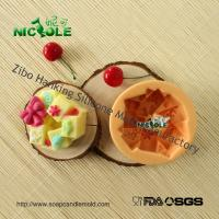 Wholesale Nicole H0001 Bowknot Garland Shaped Silicone Natural Soap Molds Resin,Clay Moulds from china suppliers