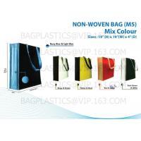 Buy cheap NON WOVEN SHOPBAG, pp woven bags, nonwoven bags, woven bags, big bag, fibc, jumbo bags,tex product