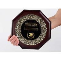 Buy cheap Customized Wooden Shield Plaque Souvenirs For Business Authorization Certification from wholesalers