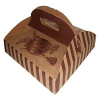 Buy cheap Flexo printing pizza box for take out, Corrugated carton box product