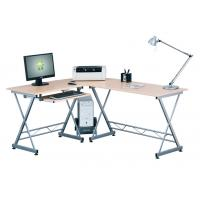 Buy cheap Unsteamed Beech Melamine Office Computer Desks , Modern Home Furniture Table DX-402 from wholesalers