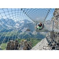 Buy cheap Child Playground Safe Wire Rope Mesh Netting 50meter Length Diamond Hole Shaped from wholesalers