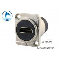 Wholesale HDMI 1.4  Digital Data Connector LC-HDMI-W Chrome Data Wire Connectors from china suppliers