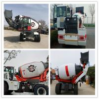 Buy cheap 1.5 Cubic Meter Automatic Feeding Mobile Concrete Truck , Concrete Mixer Lorry from wholesalers