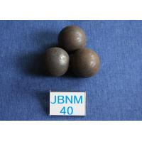 Cement Plants Grinding Steel Balls Ball B2 D40mm , Grinding Balls for Mining 63-64hrc Manufactures