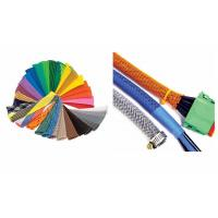 Buy cheap Wire Shielding PET Expandable Braided Sleeving For Cable Protection from wholesalers