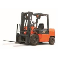 High Efficiency Counterbalance Forklift Truck 4 Ton Capacity 3m - 6m Lift Height for sale