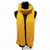 Buy cheap Acrylic Shawl, Available in Various Colors, Fancy Design from wholesalers