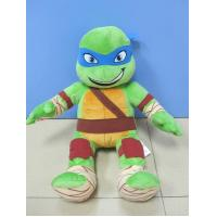 Light Green Teenage Mutant Ninja Turtles Cartoon Stuffed Toys For Collection Manufactures
