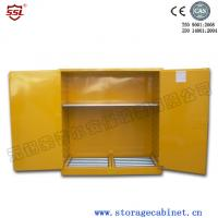 Quality Chemical Liquid Hazardous Flammable Storage Cabinet With Cold Rolled Steel for sale
