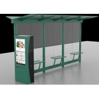 Wholesale Auto LCD Outdoor Digital Signage , Digital Bus Stop Shelter Advertising System from china suppliers