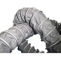 Buy cheap Clamped high temperature resistant flexible polyester air ventilation duct hose from wholesalers