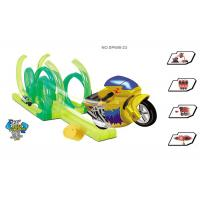 """Wholesale 42 """" Inertia Motorcycle Kids Race Track Set High Level 360° Rotation 36 Pcs from china suppliers"""